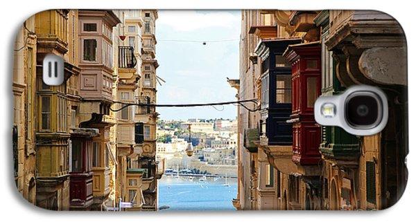 Balcony Galaxy S4 Cases - Balconies of Valletta 2 Galaxy S4 Case by Jasna Buncic