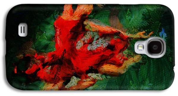 Girl Galaxy S4 Cases - Ballerina Girl -  Love Is Seduction  Galaxy S4 Case by Sir Josef  Putsche