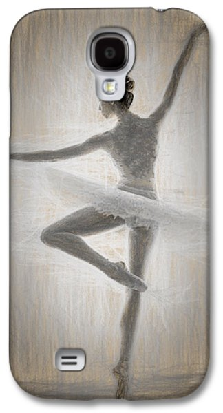 Ballerina Galaxy S4 Case by Quim Abella