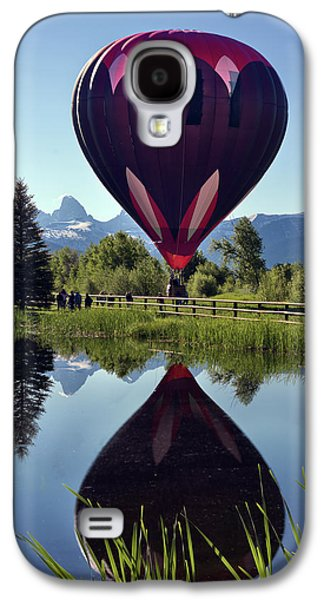 Balloon Reflection Galaxy S4 Case by Leland D Howard