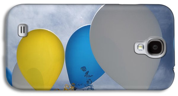 Helium Galaxy S4 Cases - Balloons Galaxy S4 Case by Patrick M Lynch