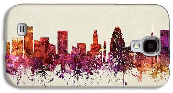 Baltimore Galaxy S4 Cases - Baltimore Cityscape 09 Galaxy S4 Case by Aged Pixel