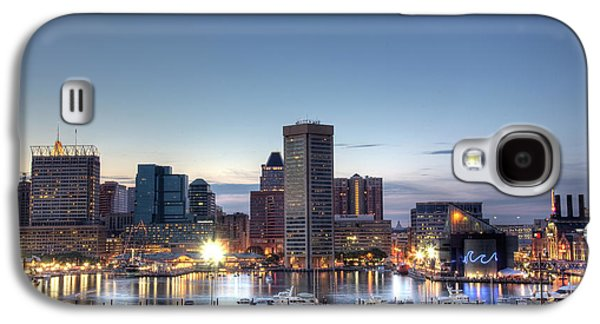 Baltimore Galaxy S4 Cases - Baltimore Harbor Galaxy S4 Case by Shawn Everhart
