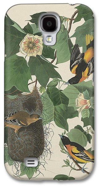 Baltimore Oriole Galaxy S4 Case by John James Audubon