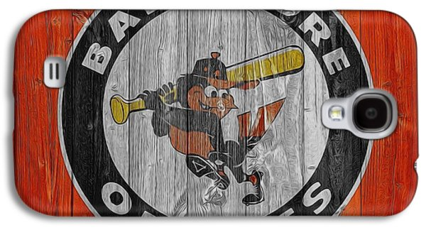 Baltimore Orioles Graphic Barn Door Galaxy S4 Case by Dan Sproul