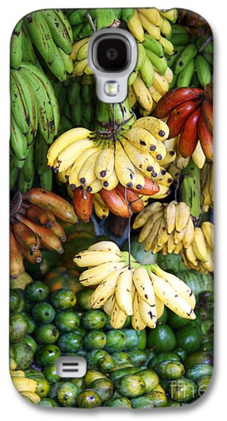 Banana Display. Galaxy S4 Case by Jane Rix