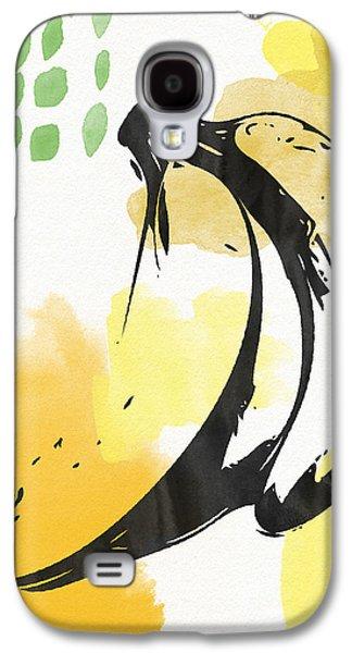 Bananas- Art By Linda Woods Galaxy S4 Case by Linda Woods