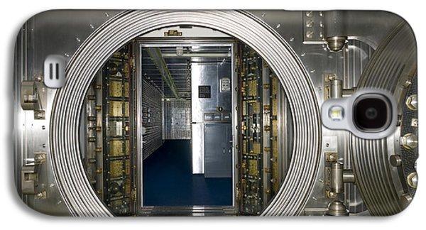 Enterprise Galaxy S4 Cases - Bank Vault Interior Galaxy S4 Case by Adam Crowley