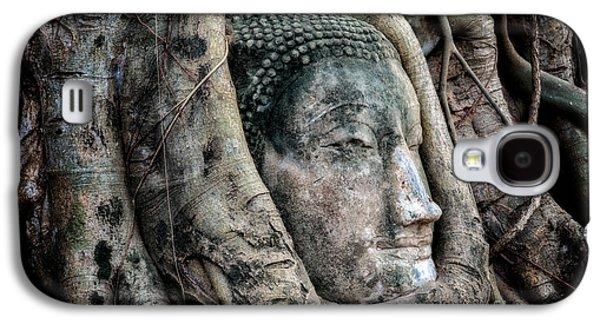 Banyan Tree Buddha Galaxy S4 Case by Adrian Evans