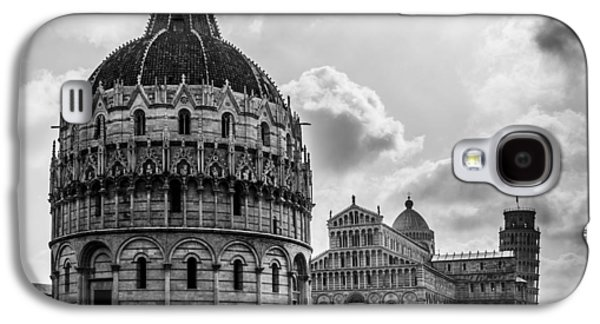 Baptistry Of St. John, Cattedrale Di Pisa, Leaning Tower Of Pisa, Italy Galaxy S4 Case by Chris Coffee