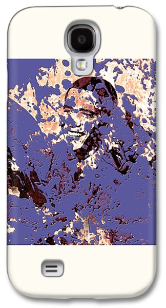 Barack Obama 44a Galaxy S4 Case by Brian Reaves