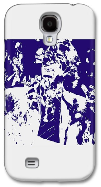 Barack Obama Paint Splatter 4a Galaxy S4 Case by Brian Reaves