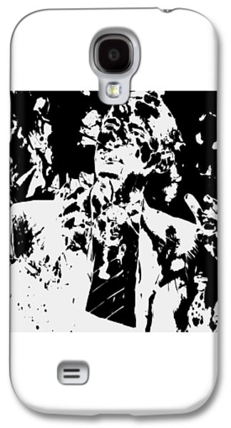 Barack Obama Paint Splatter 4b Galaxy S4 Case by Brian Reaves