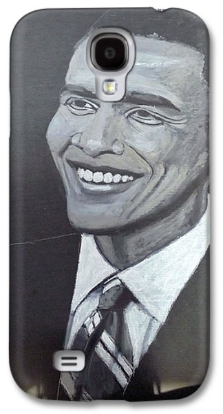Barack Obama Galaxy S4 Cases - Barack Obama Galaxy S4 Case by Richard Le Page