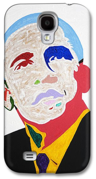 African-american Galaxy S4 Cases - Barack Obama Galaxy S4 Case by Stormm Bradshaw