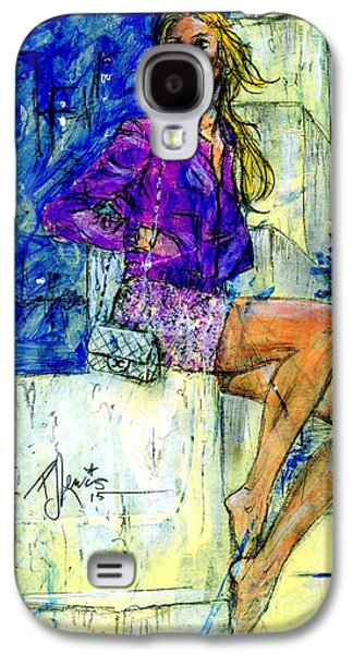 Girl Galaxy S4 Cases - Barefoot City Nights Galaxy S4 Case by P J Lewis