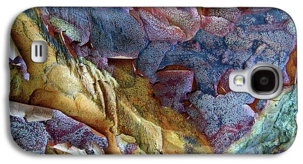 Bark Abstract Galaxy S4 Case by Jessica Jenney