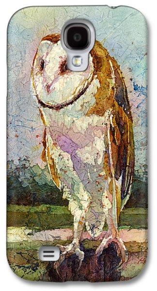 Barn Owl Galaxy S4 Case by Hailey E Herrera