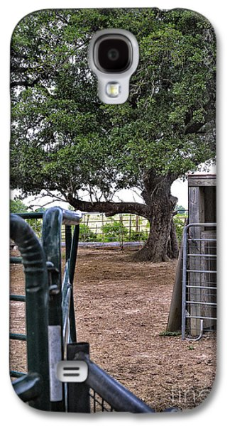 Barn Yard Galaxy S4 Cases - Barnyard Geometry Galaxy S4 Case by Walt Foegelle