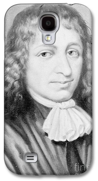 Separation Galaxy S4 Cases - Baruch Spinoza, Jewish-dutch Philosopher Galaxy S4 Case by Photo Researchers