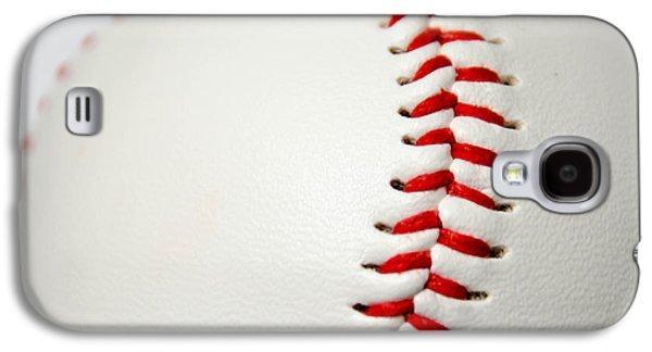 Base Path Galaxy S4 Cases - Baseball Galaxy S4 Case by Andrea Anderegg