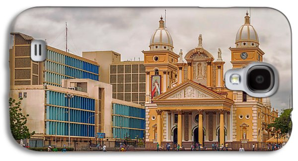 Landmarks Photographs Galaxy S4 Cases - Basilica Of Our Lady Chiquinquira Galaxy S4 Case by The Photographer