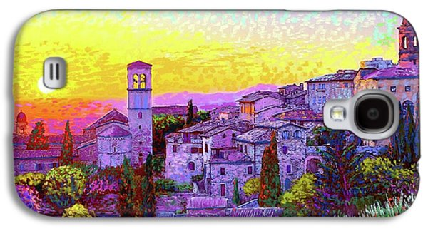 Basilica Of St. Francis Of Assisi Galaxy S4 Case by Jane Small