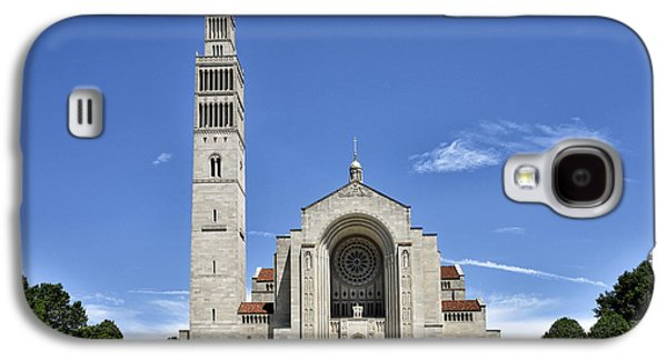 Religious Galaxy S4 Cases - Basilica of the National Shrine of The Immaculate Conception Galaxy S4 Case by Brendan Reals
