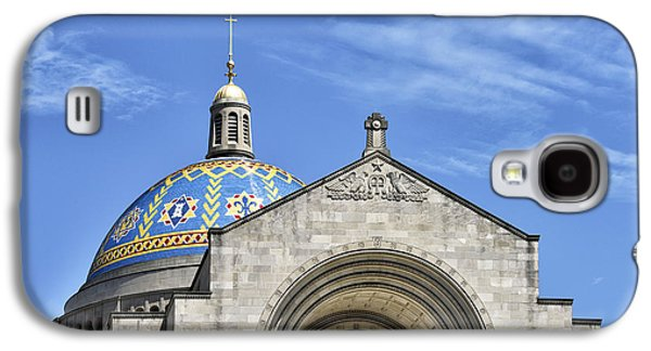 Religious Galaxy S4 Cases - Basilica of the National Shrine of the Immaculate Conception - Washington DC Galaxy S4 Case by Brendan Reals