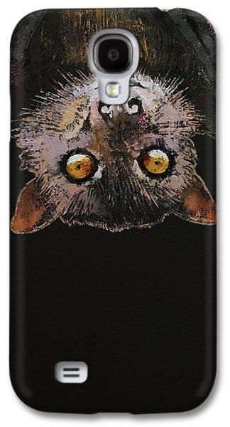 Bat Galaxy S4 Case by Michael Creese