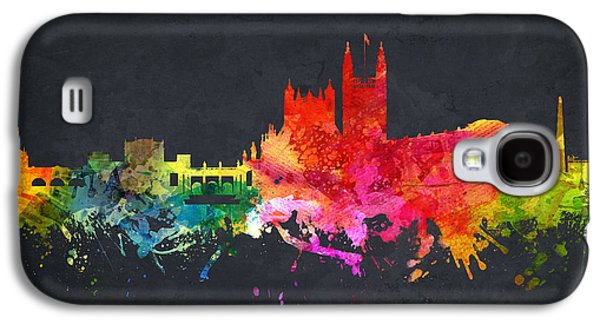 Somerset Galaxy S4 Cases - Bath cityscape 07 Galaxy S4 Case by Aged Pixel