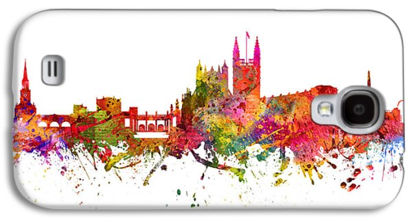 Somerset Galaxy S4 Cases - Bath cityscape 08 Galaxy S4 Case by Aged Pixel