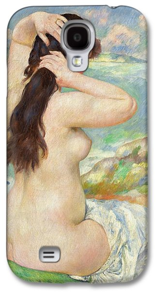 Bather Arranging Her Hair Galaxy S4 Case by Pierre Auguste Renoir