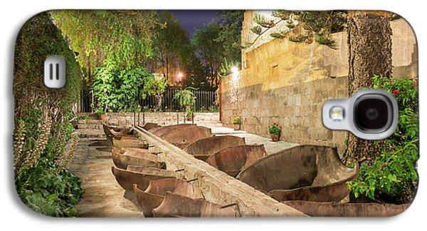 Bathing Area In Santa Catalina Monastery Galaxy S4 Case by Jess Kraft