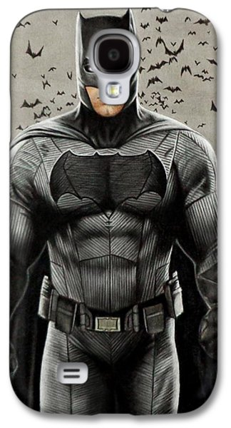 Batman Ben Affleck Galaxy S4 Case by David Dias