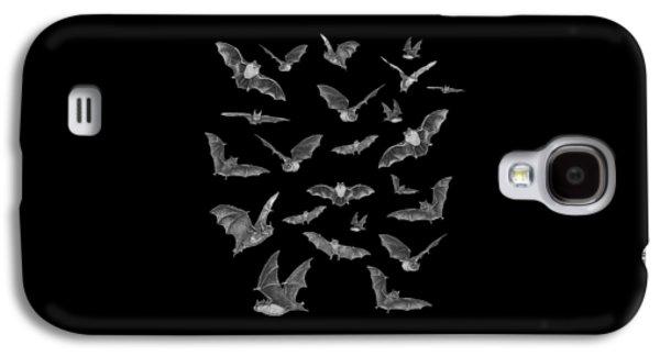 Creepy Galaxy S4 Cases - Bats Galaxy S4 Case by Brian Wallace