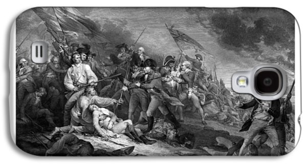 American History Galaxy S4 Cases - Battle of Bunker Hill Galaxy S4 Case by War Is Hell Store