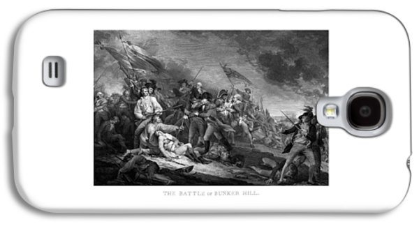 Army Mixed Media Galaxy S4 Cases - Battle of Bunker Hill Galaxy S4 Case by War Is Hell Store