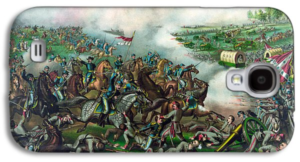 American History Galaxy S4 Cases - Battle of Five Forks Galaxy S4 Case by War Is Hell Store