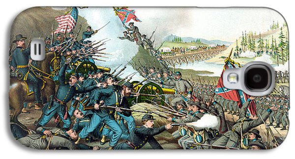 Franklin Galaxy S4 Cases - Battle Of Franklin - Civil War Galaxy S4 Case by War Is Hell Store