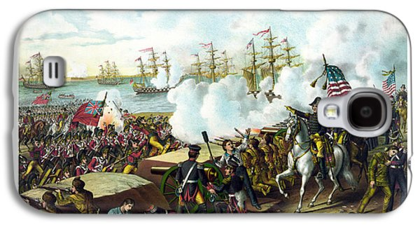 American Paintings Galaxy S4 Cases - Battle of New Orleans Galaxy S4 Case by War Is Hell Store