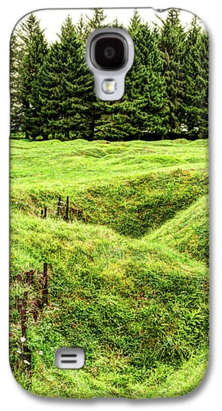 Battle Of The Somme Trench At Beaumont-hamel - Vintage Version Galaxy S4 Case by Weston Westmoreland