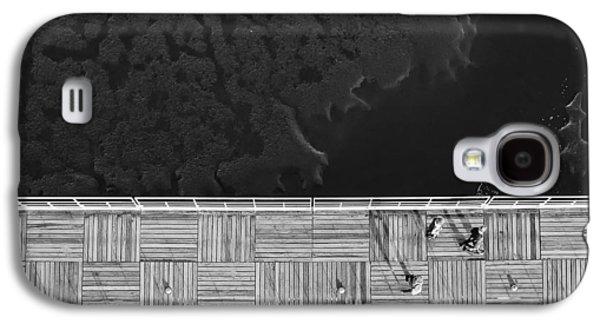 Plankton Galaxy S4 Cases - Bay Walk Galaxy S4 Case by Nuno Silva
