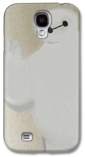 Animation Galaxy S4 Cases - Baymax Galaxy S4 Case by Becca Jones