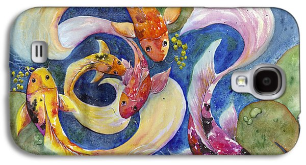Courage Paintings Galaxy S4 Cases - Be Bold Galaxy S4 Case by Susy Soulies