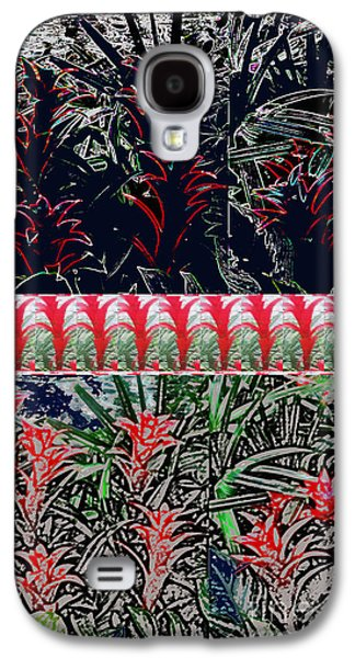 Abstract Digital Mixed Media Galaxy S4 Cases - Be Different BUY DIFFERENT Flower based Graphic Digital Paintings Home Decor Abstract FineArt   Galaxy S4 Case by Navin Joshi