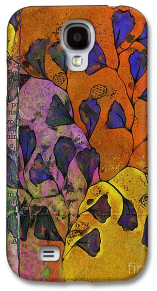 Digital Collage Galaxy S4 Cases - Be Leaf - 2220a Galaxy S4 Case by Variance Collections