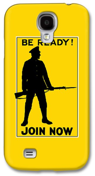 Ww1 Galaxy S4 Cases - Be Ready - Join Now Galaxy S4 Case by War Is Hell Store