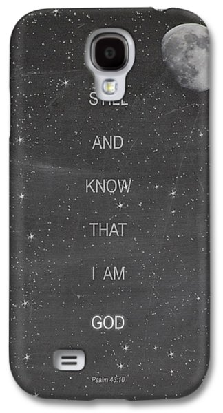 Religious Galaxy S4 Cases - Be Still Galaxy S4 Case by Vicki Carson