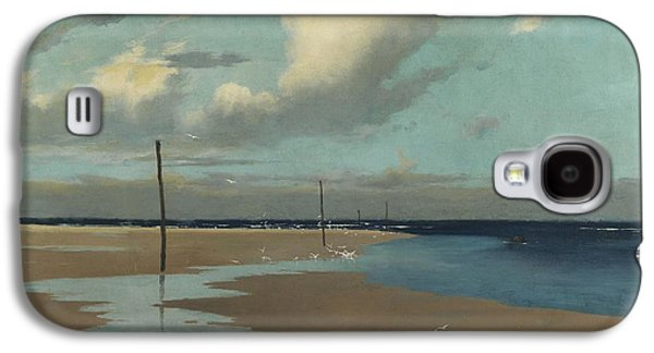 Beach At Low Tide Galaxy S4 Case by Frederick Milner